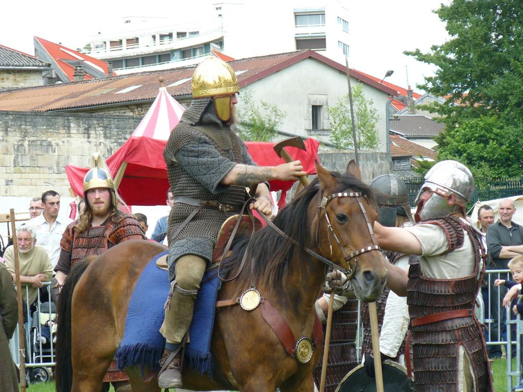 Auftritt Ulfhednar Saint Deniz