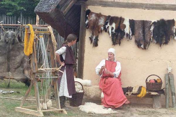 Dorfleben
