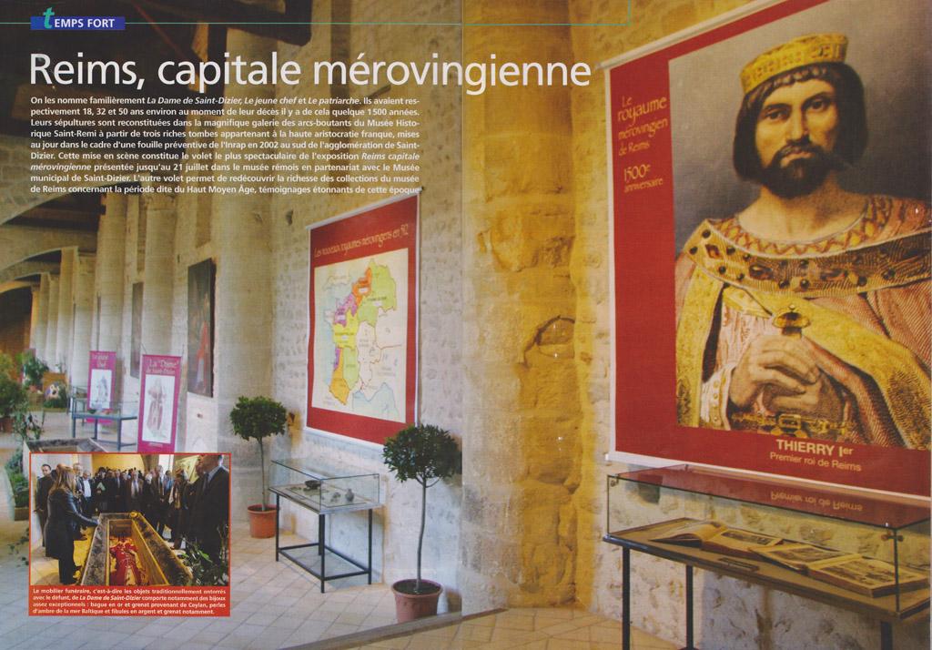 Reims capitale mérowingienne